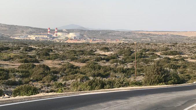Dieselenergie auf Rhodos